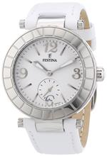 フェスティナ 時計 Festina Womens Quartz Watch with White Dial Analogue Display and White Leather<img class='new_mark_img2' src='https://img.shop-pro.jp/img/new/icons33.gif' style='border:none;display:inline;margin:0px;padding:0px;width:auto;' />