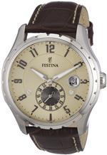フェスティナ 時計 Festina Mens Retro F16486/2 Brown Leather Quartz Watch with Gold Dial<img class='new_mark_img2' src='https://img.shop-pro.jp/img/new/icons12.gif' style='border:none;display:inline;margin:0px;padding:0px;width:auto;' />