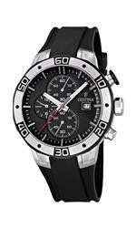 フェスティナ 時計 Festina F16667-6 Mens Black 2013 Tour of Britain Chrono Watch