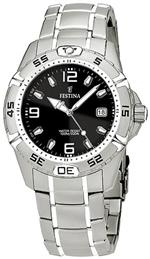 フェスティナ 時計 Festina Mens Estuche F16170/3 Silver Stainless-Steel Quartz Watch with Black Dial<img class='new_mark_img2' src='https://img.shop-pro.jp/img/new/icons19.gif' style='border:none;display:inline;margin:0px;padding:0px;width:auto;' />