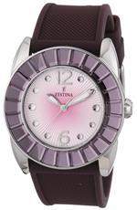 フェスティナ 時計 Festina Womens Dream F16540/7 Purple Rubber Quartz Watch with Silver Dial<img class='new_mark_img2' src='https://img.shop-pro.jp/img/new/icons8.gif' style='border:none;display:inline;margin:0px;padding:0px;width:auto;' />