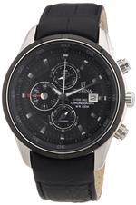 フェスティナ 時計 Festina Mens Crono F6821/5 Black Leather Analog Quartz Watch with Black Dial<img class='new_mark_img2' src='https://img.shop-pro.jp/img/new/icons37.gif' style='border:none;display:inline;margin:0px;padding:0px;width:auto;' />