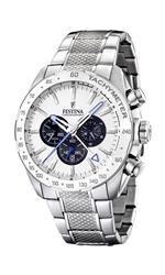 フェスティナ 時計 Festina Mens Crono F16488/6 Silver Stainless-Steel Analog Quartz Watch with White<img class='new_mark_img2' src='https://img.shop-pro.jp/img/new/icons35.gif' style='border:none;display:inline;margin:0px;padding:0px;width:auto;' />