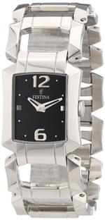 フェスティナ 時計 Festina Womens Quartz Watch F16470/5 with Metal Strap