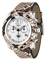 グラムロック 時計 Glam Rock Womens GR10176D1 Miami Collection Chronograph Diamond Accented Brown