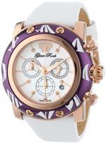グラムロック 時計 Glam Rock Womens GR10516 Smalto Collection Diamond Chronograph White Techno Watch