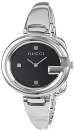 グッチ 時計 Gucci Womens YA134301 Guccissima Fashion Bangle Black Dial Watch<img class='new_mark_img2' src='https://img.shop-pro.jp/img/new/icons2.gif' style='border:none;display:inline;margin:0px;padding:0px;width:auto;' />