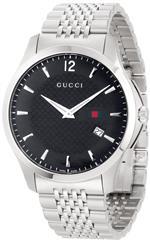 グッチ 時計 Gucci Mens YA126309 G-Timeless Slim Case Black Dial Signature Gucci Green Red Green Web<img class='new_mark_img2' src='https://img.shop-pro.jp/img/new/icons4.gif' style='border:none;display:inline;margin:0px;padding:0px;width:auto;' />