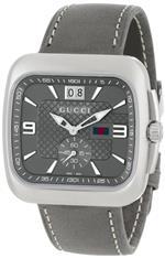 グッチ 時計 Gucci Mens YA131313 Gucci Coupe Anthracite Sun-Brushed Diamond Pattern Dial Watch<img class='new_mark_img2' src='https://img.shop-pro.jp/img/new/icons22.gif' style='border:none;display:inline;margin:0px;padding:0px;width:auto;' />