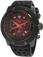 グラムロック 時計 Glam Rock Mens GR90110 Racetrack Collection Chronograph Black Silicone Watch<img class='new_mark_img2' src='https://img.shop-pro.jp/img/new/icons19.gif' style='border:none;display:inline;margin:0px;padding:0px;width:auto;' />