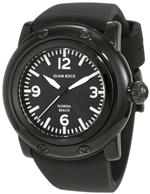 グラムロック 時計 Glam Rock Womens GW25060 Florida Beach Black Dial Black Silicone Watch