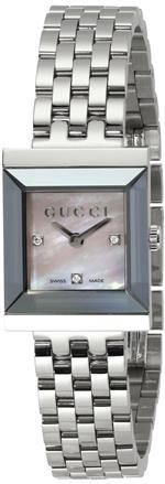 グッチ 時計 Gucci Womens YA128401 G Frame Timeless Modern Square Shape Watch