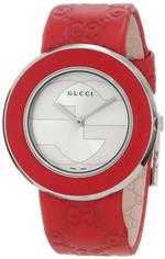 グッチ 時計 Gucci Womens YA129421 U-Play Medium Watch with Interchangeable Bracelet and Bezel