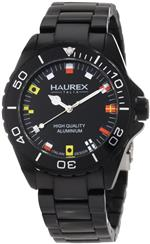 ハウレックスイタリア 時計 Haurex Italy Mens 7K374UNF Ink Black Aluminum Bracelet Watch<img class='new_mark_img2' src='https://img.shop-pro.jp/img/new/icons24.gif' style='border:none;display:inline;margin:0px;padding:0px;width:auto;' />