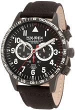 ハウレックスイタリア 時計 Haurex Italy Mens 9N300UNN Red Arrow Chronograph Watch