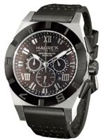 ハウレックスイタリア 時計 Haurex Italy Mens 3D350UMM Challenger 2 Chrono Grey Dial Watch