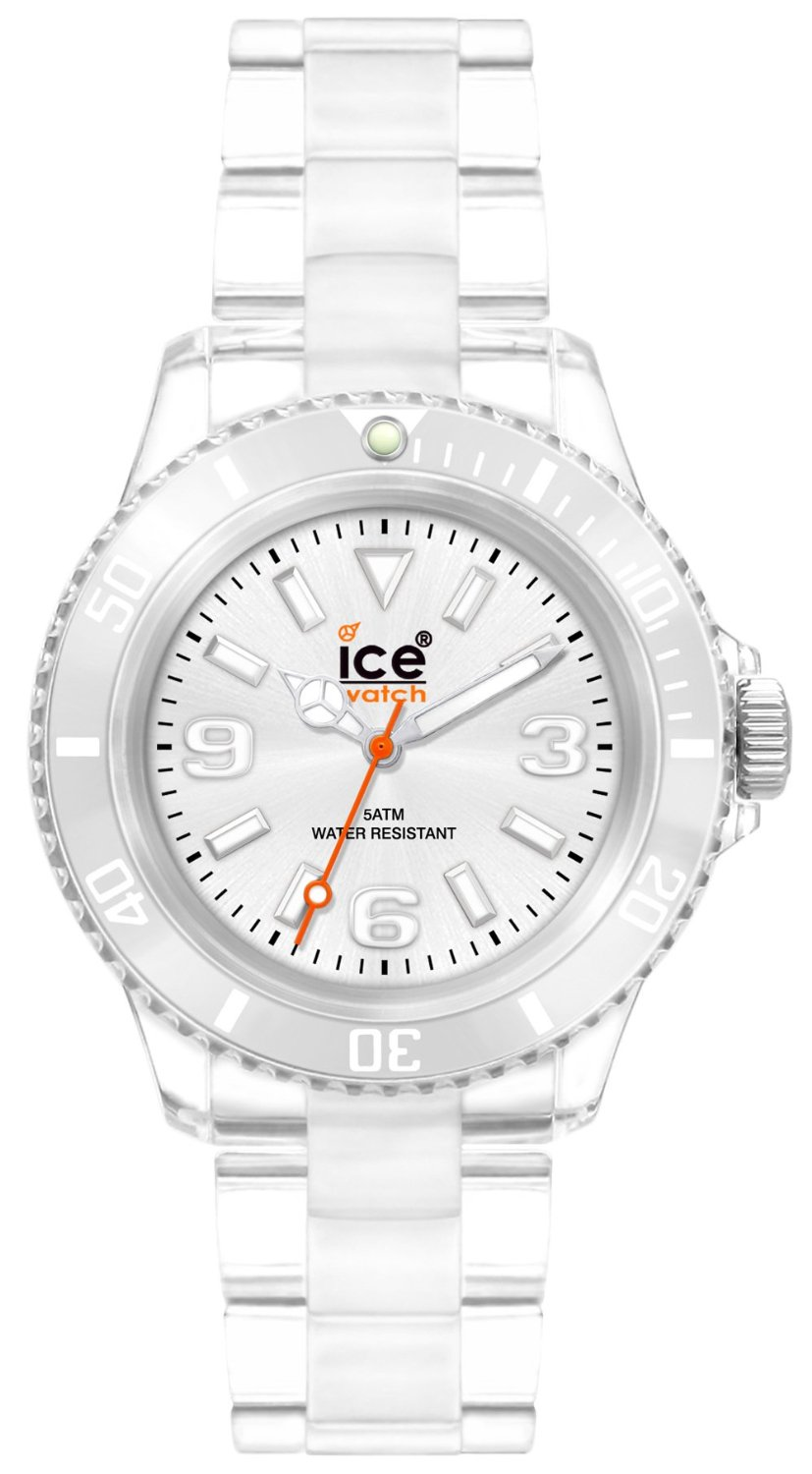 buy online 0ff0f 30c78 アイス 時計 Ice-Watch Womens CL.SR.S.P.09 Classic Collection Silver Dial Clear  Plastic Watch - 輸入時計専門店 ショップ タイムズ 通販