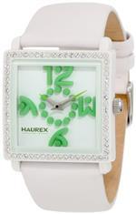 ハウレックスイタリア 時計 Haurex Italy Womens WF369DWV Diverso Pc Square Swarovski White Watch<img class='new_mark_img2' src='https://img.shop-pro.jp/img/new/icons21.gif' style='border:none;display:inline;margin:0px;padding:0px;width:auto;' />
