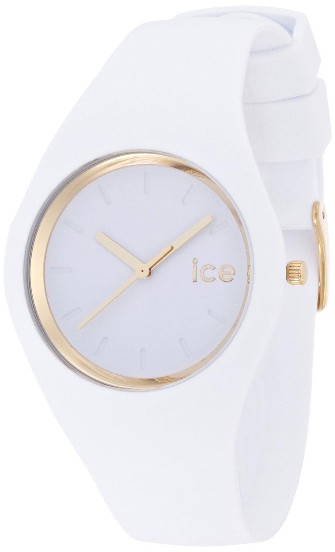 quality design c9c34 6298c アイス 時計 Ice-Watch ICE.GL.WE.U.S.13 Ladies Ice-Glam White Silicon Strap Watch  - 輸入時計専門店 ショップ タイムズ 通販