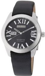 ハウレックスイタリア 時計 Haurex Italy Womens FA356DN1 Magister L Black Dial Watch