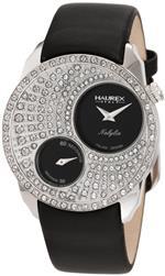 ハウレックスイタリア 時計 Haurex Italy Womens FS359DN1 Nabylia Swarovski Black Satin Watch<img class='new_mark_img2' src='https://img.shop-pro.jp/img/new/icons11.gif' style='border:none;display:inline;margin:0px;padding:0px;width:auto;' />
