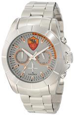 ハウレックスイタリア 時計 Haurex Italy Mens R0366USS Aston Chronograph Watch