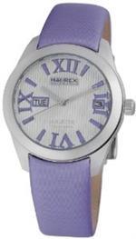 ハウレックスイタリア 時計 Haurex Italy Womens FA356DW1 Magister L Silver Dial Watch