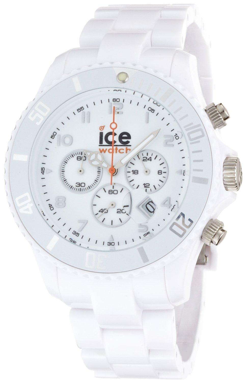quality design f9871 f839a アイス 時計 Ice-Watch Mens CH.WE.B.P.09 Chrono Collection White Dial White Strap  Watch - 輸入時計専門店 ショップ タイムズ 通販