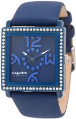 ハウレックスイタリア 時計 Haurex Italy Womens BF369DBB Diverso Pc Square Swarovski Blue Watch<img class='new_mark_img2' src='https://img.shop-pro.jp/img/new/icons34.gif' style='border:none;display:inline;margin:0px;padding:0px;width:auto;' />