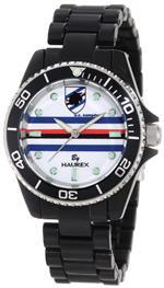 ハウレックスイタリア 時計 Haurex Italy Womens US339DNW Sport-R U.C. Sampdoria Rotating Bezel Black<img class='new_mark_img2' src='https://img.shop-pro.jp/img/new/icons34.gif' style='border:none;display:inline;margin:0px;padding:0px;width:auto;' />
