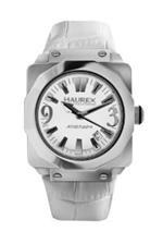 ハウレックスイタリア 時計 Haurex Italy Womens 8A372DWW Athenum Stainless Steel White Leather Date<img class='new_mark_img2' src='https://img.shop-pro.jp/img/new/icons12.gif' style='border:none;display:inline;margin:0px;padding:0px;width:auto;' />