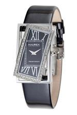 ハウレックスイタリア 時計 Haurex Italy Womens FS329DN1 Ivresse Black Dial Watch
