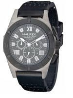 ハウレックスイタリア 時計 Haurex Italy Mens 3J350UGG Challenger 2 Chrono Grey Dial Watch