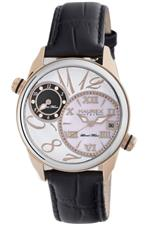 ハウレックスイタリア 時計 Haurex Italy Womens 6D283DSH Big Fly World Time Watch