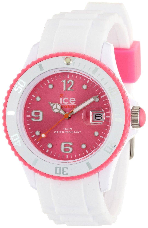 buy online ad854 8b871 アイス 時計 Ice-Watch SI.WP.U.S.12 Ice-White Pink Watch - 輸入時計専門店 ショップ タイムズ 通販