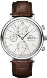 アイダブルシー 時計 IWC Portofino Mens Chronograph Automatic Watch - 3910-07
