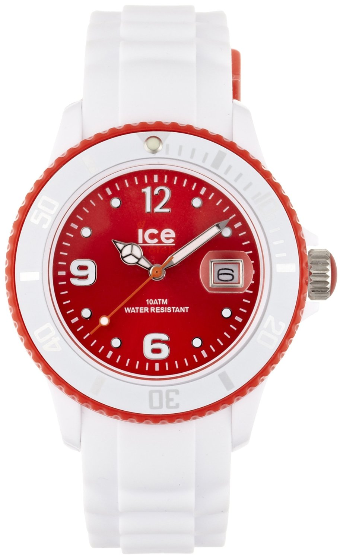 new style 37b60 c87c1 アイス 時計 Ice-Watch SI.WD.U.S.12 Ice-White Red Watch - 輸入時計専門店 ショップ タイムズ 通販