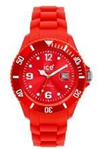 アイス 時計 Ice-Watch Unisex SI.RD.U.S.09 Sili Collection Red Plastic and Silicone Watch