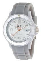 アイス 時計 Ice-Watch Unisex SI.SR.U.S.09 Sili Collection Silver Plastic and Silicone Watch