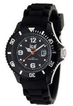 アイス 時計 Ice-Watch Womens SIBKSS09 Sili Collection Black Dial Watch