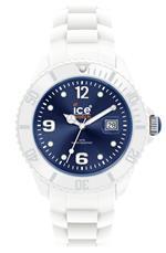 アイス 時計 Ice Mens SIWBBS10 Ice-White Dark Blue Dial with White Bracelet Watch