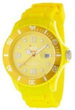 アイス 時計 Ice-Watch Mens SI.YW.B.S.09 Sili Collection Yellow Plastic and Silicone Watch