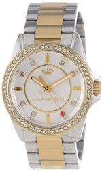 ジューシークチュール 時計 Juicy Couture Womens 1901078 quotStella Miniquot Two-Tone Bracelet Watch
