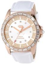 ジューシークチュール 時計 Juicy Couture Womens 1901060 Stella White Embossed Leather Strap Watch<img class='new_mark_img2' src='https://img.shop-pro.jp/img/new/icons10.gif' style='border:none;display:inline;margin:0px;padding:0px;width:auto;' />