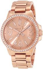 ジューシークチュール 時計 Juicy Couture Womens 1900960 Jetsetter Rose Gold Bracelet Watch