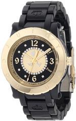 ジューシークチュール 時計 Juicy Couture Womens 1900846 HRH Black Plastic Bracelet Watch