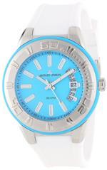 ジャックルマン 時計 Jacques Lemans Mens 1-1785F Miami Sport Analog White Silicone Strap Watch<img class='new_mark_img2' src='https://img.shop-pro.jp/img/new/icons36.gif' style='border:none;display:inline;margin:0px;padding:0px;width:auto;' />