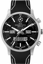 ジャックルマン 時計 Jacques Lemans UEFA U-40A 49mm Stainless Steel Case Leather Mineral Mens Watch<img class='new_mark_img2' src='https://img.shop-pro.jp/img/new/icons8.gif' style='border:none;display:inline;margin:0px;padding:0px;width:auto;' />
