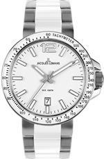ジャックルマン 時計 Jacques Lemans Mens 1-1711B Milano Sport Analog with HighTech Ceramic Watch