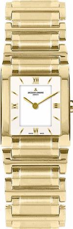 ジャックルマン 時計 Jacques Lemans Womens G-117F Gloria Classic Analog Sapphire Glass Watch